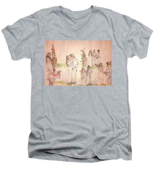 The Wedding Album  Men's V-Neck T-Shirt