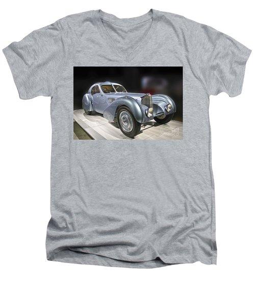 1926 Bugatti Men's V-Neck T-Shirt