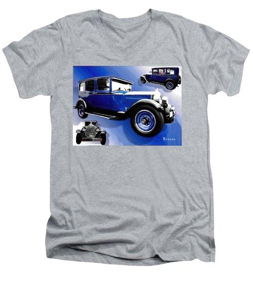 1927 Packard 526 Sedan Men's V-Neck T-Shirt