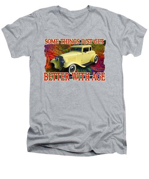 1932 Ford Coupe Men's V-Neck T-Shirt