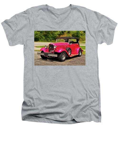 1932 Street Rod 001 Men's V-Neck T-Shirt