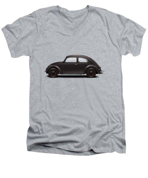 1939 Kdf Wagen - Black Men's V-Neck T-Shirt