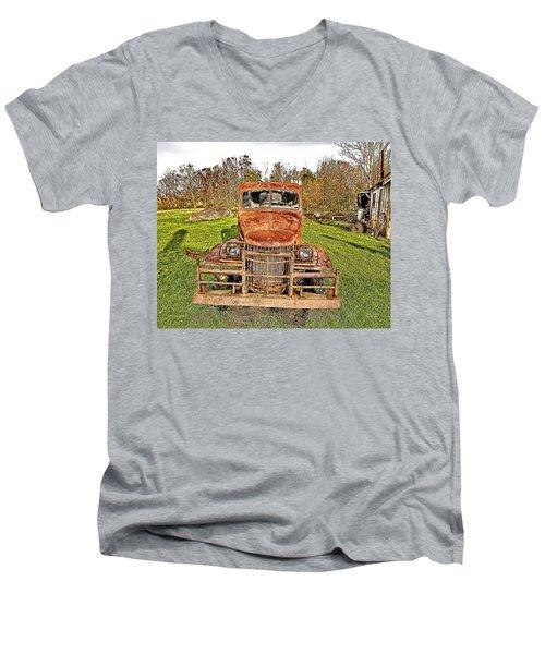 1941 Dodge Truck 3 Men's V-Neck T-Shirt