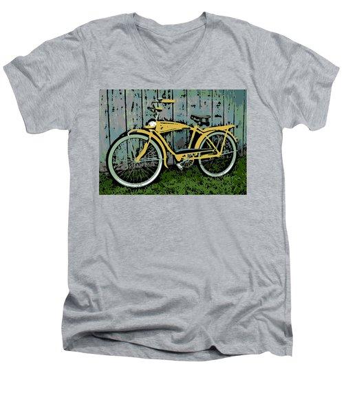 1949 Shelby Donald Duck Bike Men's V-Neck T-Shirt