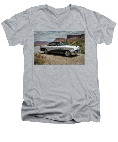 1956 Buick Special Men's V-Neck T-Shirt