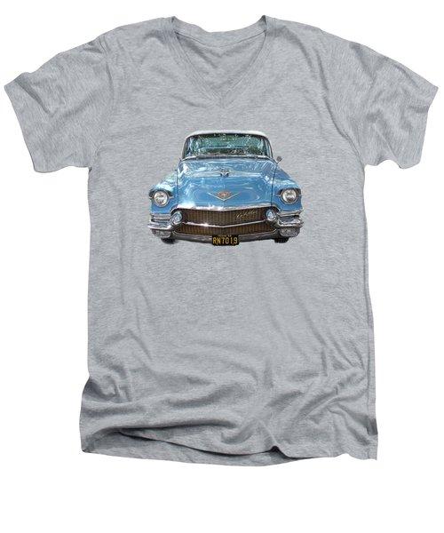 1956 Cadillac Cutout Men's V-Neck T-Shirt