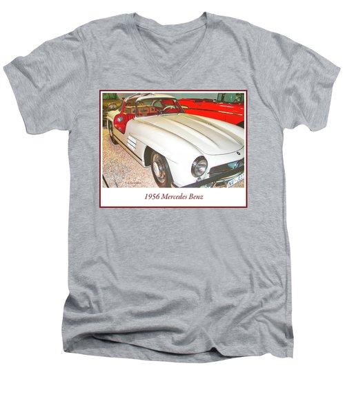 1956 Mercedes Benz Men's V-Neck T-Shirt