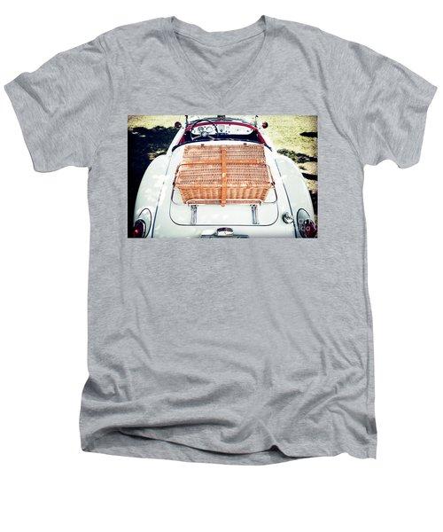 1956 Mga Roadster Men's V-Neck T-Shirt