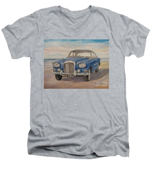 1963 Bentley Continental S3 Coupe Men's V-Neck T-Shirt