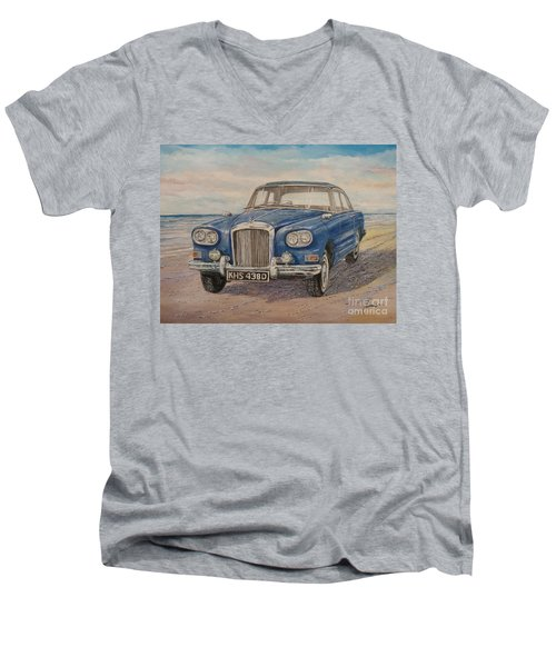 1963 Bentley Continental S3 Coupe Men's V-Neck T-Shirt
