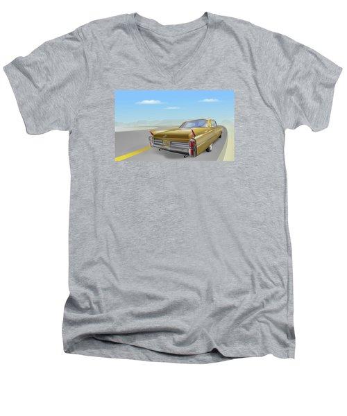1963 Cadillac De Ville Men's V-Neck T-Shirt