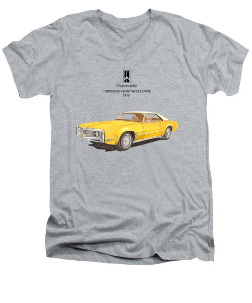 1970 Oldsmobile Toronado Men's V-Neck T-Shirt