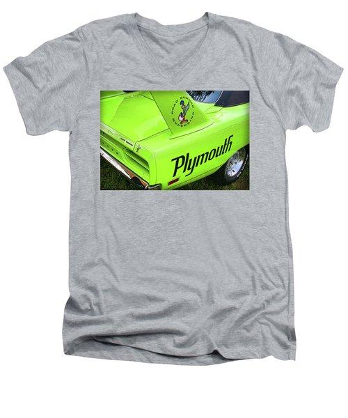 1970 Plymouth Superbird Men's V-Neck T-Shirt by Gordon Dean II