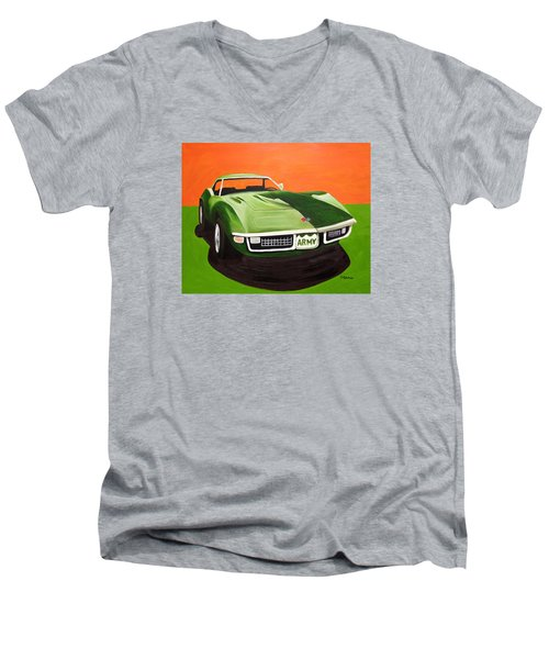 1971stingray-army Men's V-Neck T-Shirt