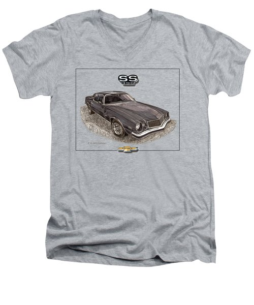1976 Camaro S S 396 Tee Shirt Men's V-Neck T-Shirt