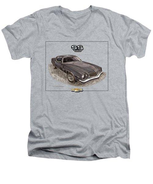 1976 Camaro S S 396 Tee Shirt Men's V-Neck T-Shirt