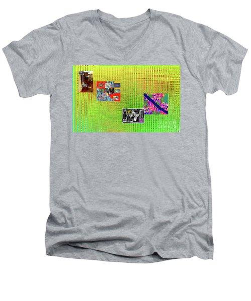 2-13-2057l Men's V-Neck T-Shirt