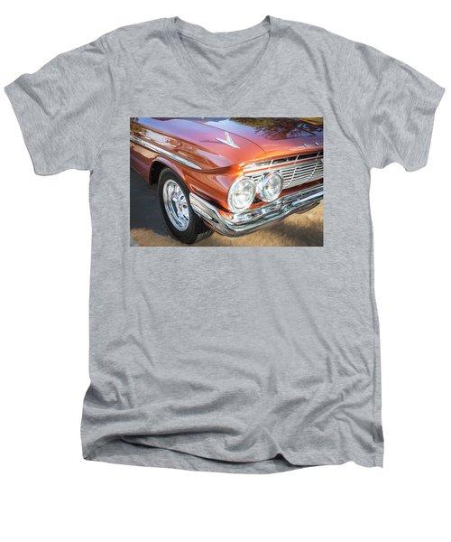 1961 Chevrolet Impala Ss  Men's V-Neck T-Shirt by Rich Franco