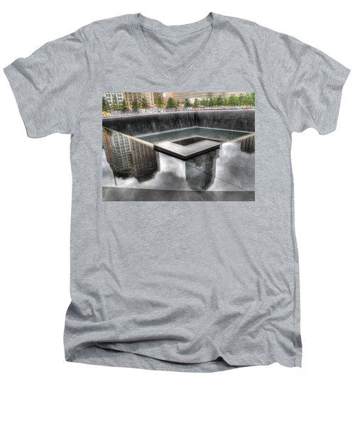 911 Memorial Men's V-Neck T-Shirt