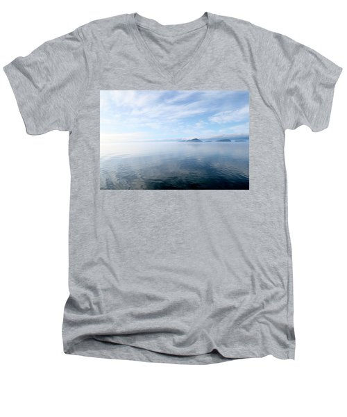 Alaska Men's V-Neck T-Shirt