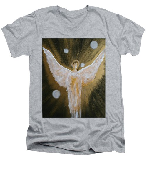 Angels Of Light Men's V-Neck T-Shirt