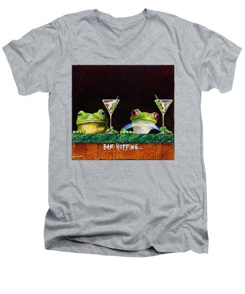 Bar Hopping... Men's V-Neck T-Shirt