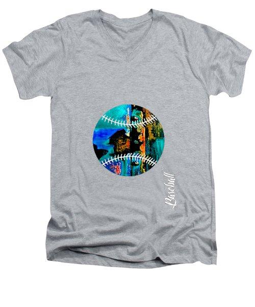 Baseball Collection Men's V-Neck T-Shirt