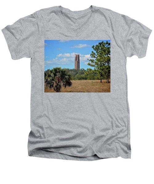 Bok Tower Men's V-Neck T-Shirt