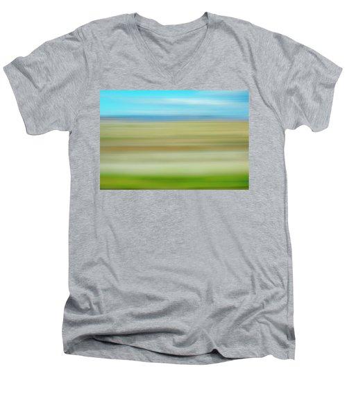 Book Cliffs Men's V-Neck T-Shirt