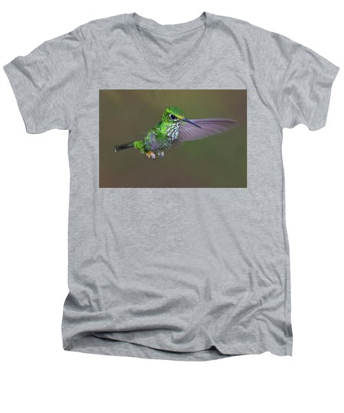 Booted Racket-tail Men's V-Neck T-Shirt