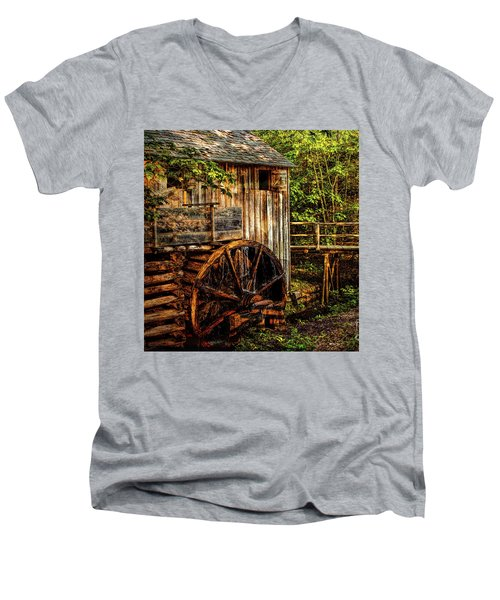 Cades Cove Mill Men's V-Neck T-Shirt