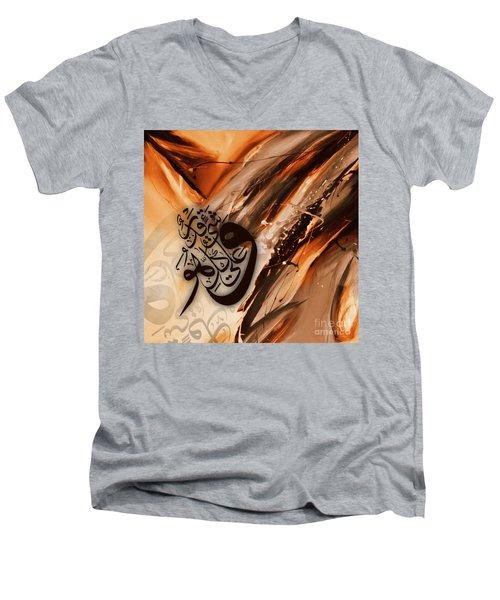 Calligraphy Men's V-Neck T-Shirt by Gull G