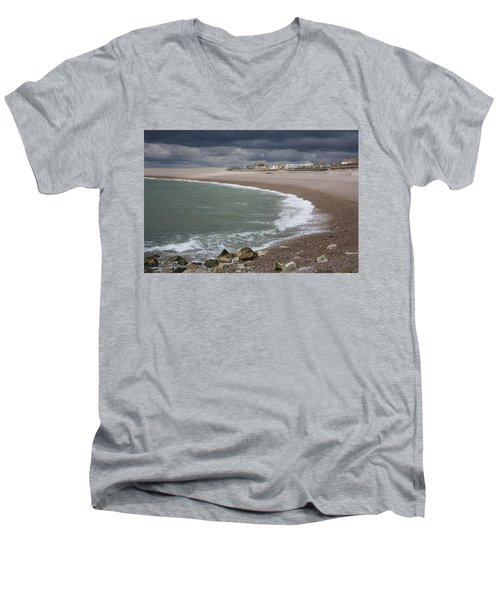 Chesil Cove  Men's V-Neck T-Shirt