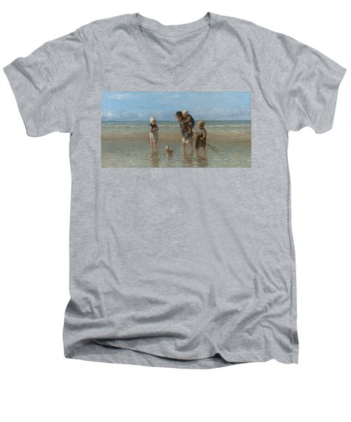 Children Of The Sea Men's V-Neck T-Shirt