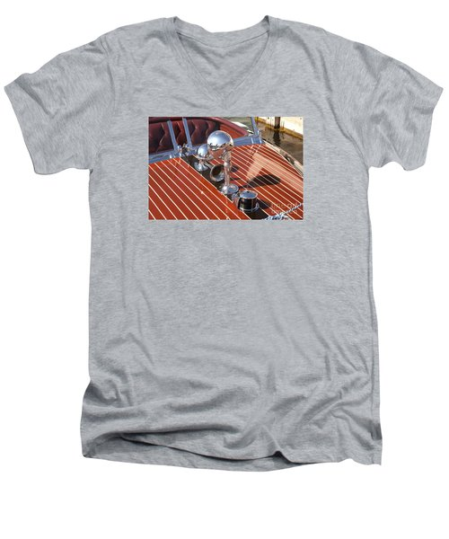 Chris Craft Custom Men's V-Neck T-Shirt