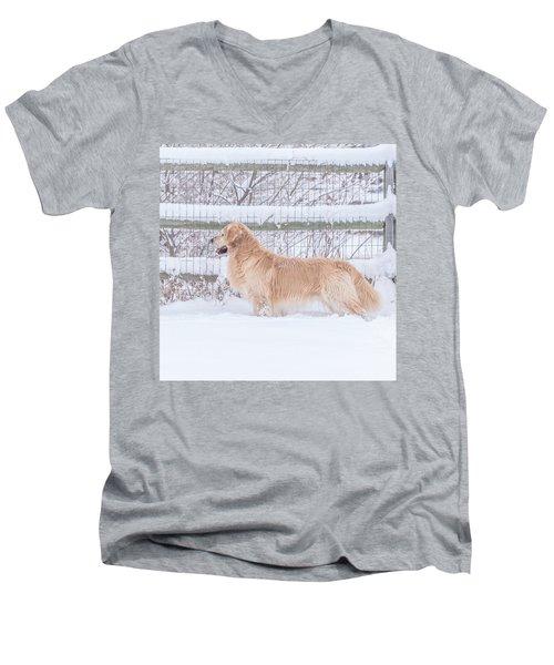 Ever Watchful Men's V-Neck T-Shirt