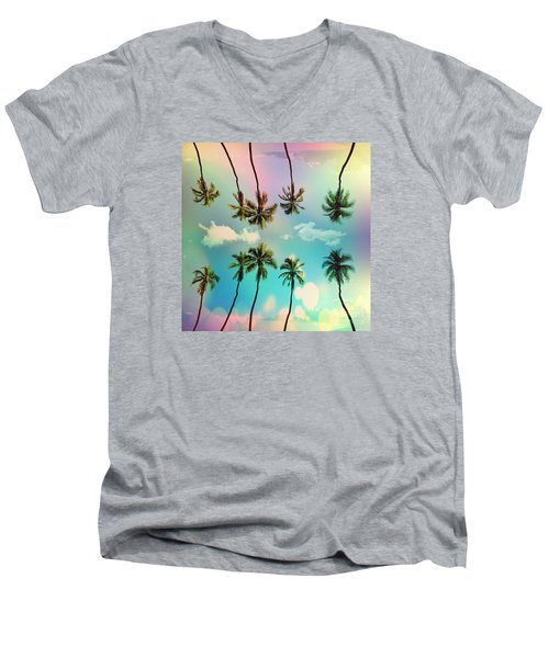Florida Men's V-Neck T-Shirt by Mark Ashkenazi