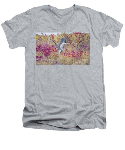 Fly Fly Away Men's V-Neck T-Shirt