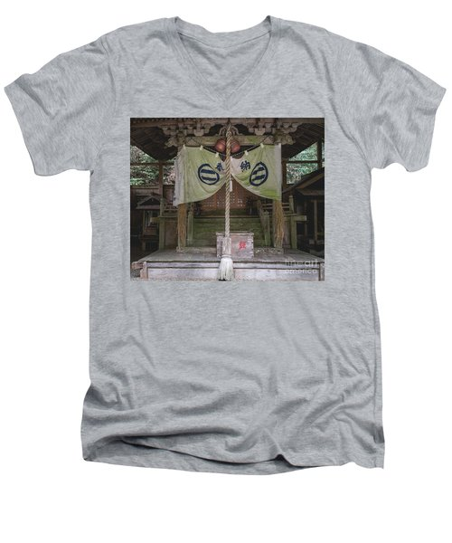 Forrest Shrine, Japan Men's V-Neck T-Shirt
