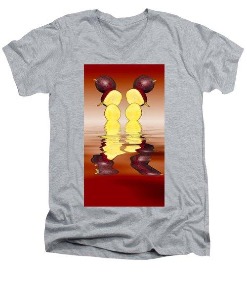 Fresh Ripe Mango Fruits Men's V-Neck T-Shirt