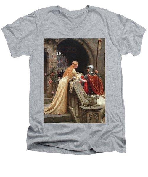 God Speed Men's V-Neck T-Shirt