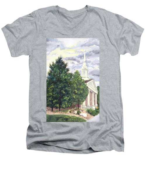Hale Street Chapel Men's V-Neck T-Shirt