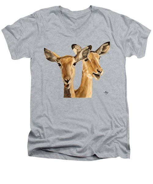 Impalas Men's V-Neck T-Shirt