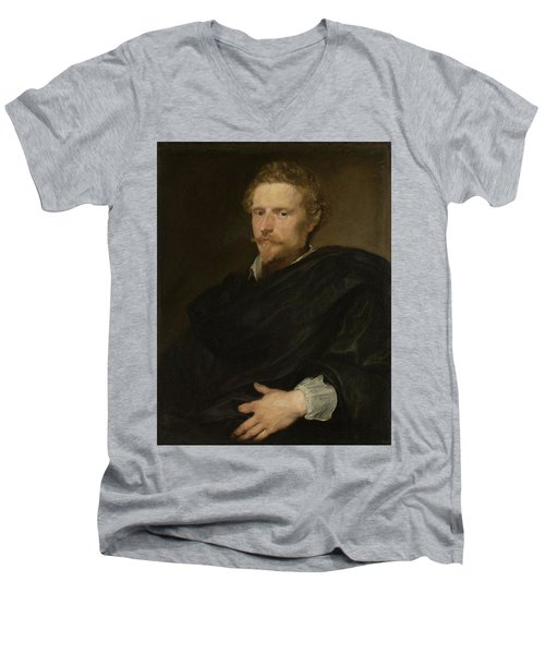 Johannes Baptista Franck Men's V-Neck T-Shirt