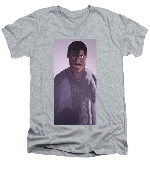 Joshua Maddison Men's V-Neck T-Shirt by Joshua Maddison