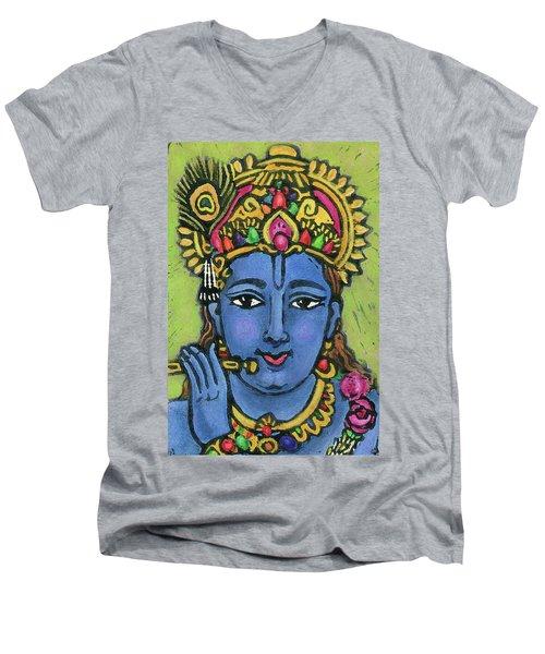 Krishna Men's V-Neck T-Shirt