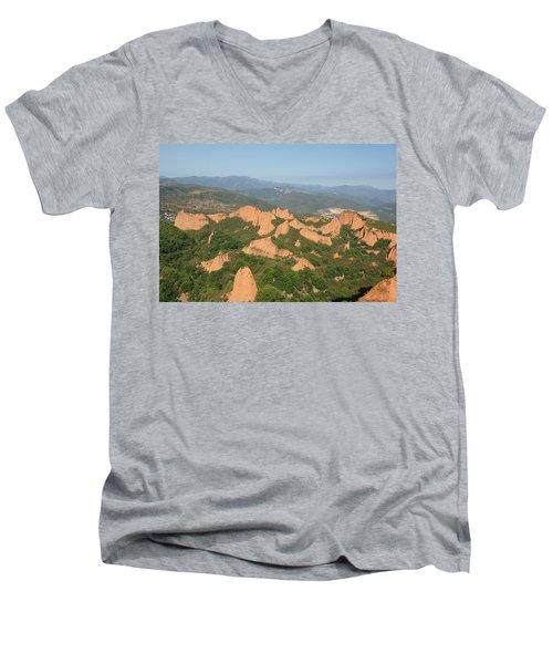 Las Medulas Men's V-Neck T-Shirt