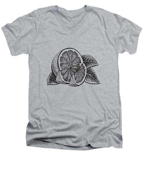 Lemon Men's V-Neck T-Shirt