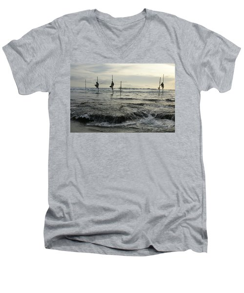 Long Beach Kogalla Men's V-Neck T-Shirt