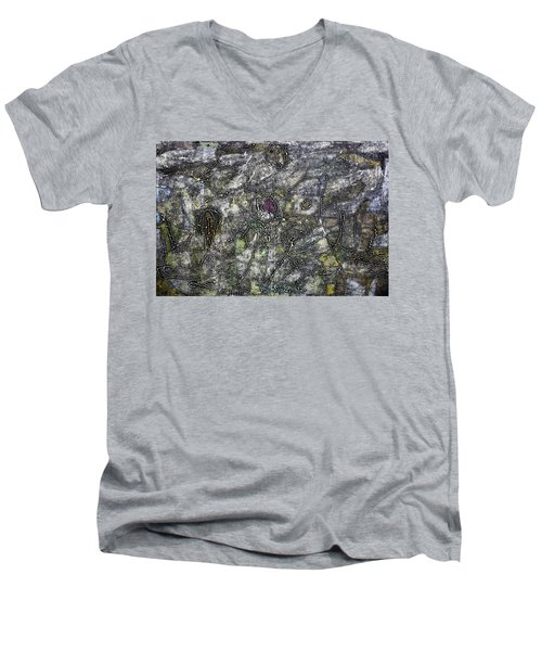 Loved And Lost Men's V-Neck T-Shirt by Ronex Ahimbisibwe